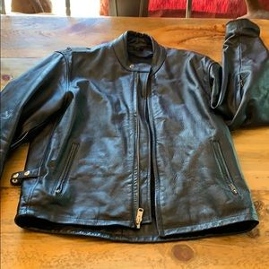Other - Men's Leather motorcycle jacket. Size large (46).